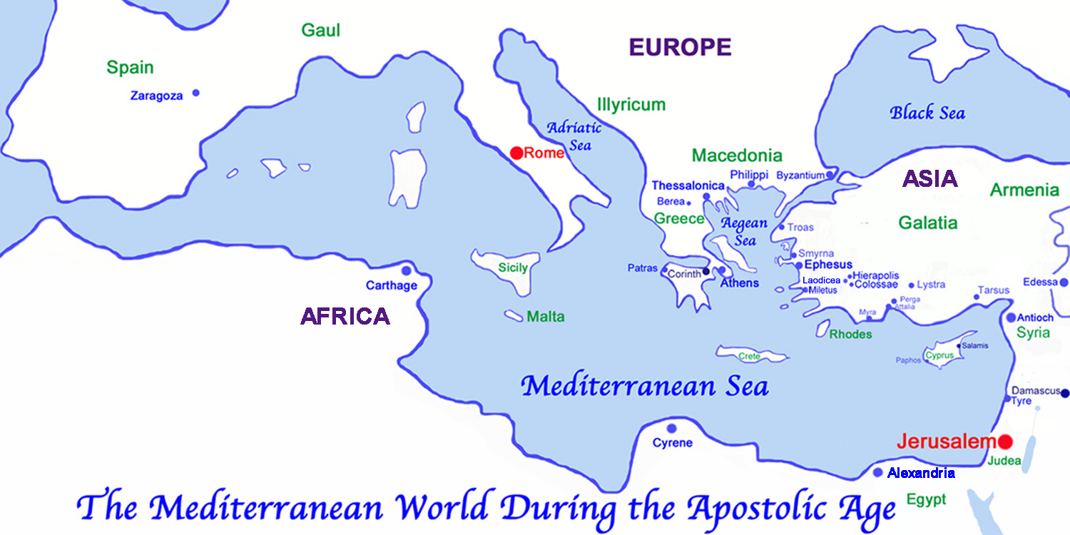 The Mediterranean World during the Apostolic Age.