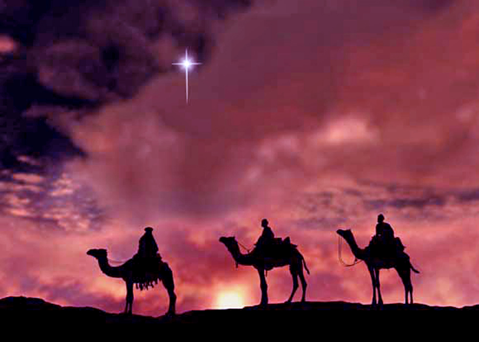 The Star of Bethlehem and the Visit of the Maji.
